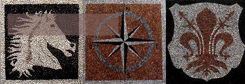 Mosaici e decori su misura
